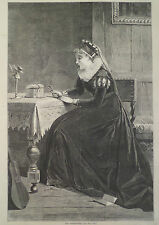 ELIZABETHAN ERA OLD TREASURES HARPER'S WEEKLY 1870