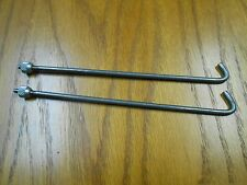 "NEW Set 8"" long Globe Rods Nuts for Columbus Peanut Gumball Vending Machines"