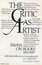 The Critic As Artist : Essays on Books 1920-1970 (1972, Paperback)