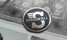 MINI COOPER CLASSIC BMC SPEEDWELL BOOT BONNET DASHBOARD BADGE RARE WORKS S 1380