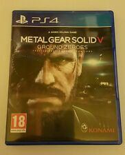 METAL GEAR SOLID 5 V Ground Zeroes PS4 USED rare UK PAL Sony PlayStation 4