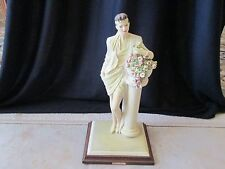 ART DECO LADY FIGURINE..A.D.L. BY VITTORIO TESSARO..