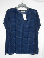 NWT Michael Kors 3X Batwing Blouse Oversized Poncho Top NEW Fits 4X Cat Charity