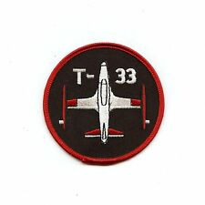RCAF CAF Canadian T-33 Squadron Colour Crest Patch