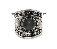 Adjustable Labradorite ring Boho ring Nepal ring Tibetan ring Tibet Ring RB86
