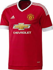 Adidas Trikot Manchester United FC 2015/2016 rot - home kit Red Devils size S