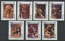 Kampuchea 1984 Art/Paintings/Correggio 7v set  (n21141)