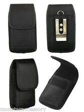 Heavy Duty Vertical Holster Pouch Case Belt Clip For APPLE iPhone 5 5S SE