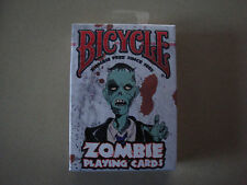 ZOMBIE BICYCLE DECK OF PLAYING CARDS - HORROR HALLOWEEN COLLECTIBLE MAGIC TRICKS