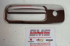 VW TRANSPORTER CADDY GOLF POLO - CHROME REAR DOOR RELEASE HANDLE COVER - 1 DOOR