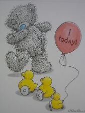 Special Granddaughter on your 1st Birthday - Tatty Teddy Me to You -Child's Card