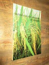 Technologie des semences de céréales: Manuel de la production