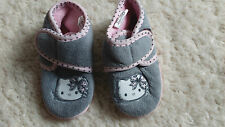 CHAUSSONS BEBE FILLE HELLO KITTY POINTURE 21   IDEE CADEAU