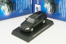 Kyosho 1/64 SUBARU LEGACY TOURING WAGON BP5 Black Minicar Collection Japan 2014