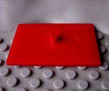 LEGO® Trains 4x6 Bogie plate (red rot bogieplatte pin rote eisenbahn 4,5v 12v)