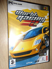 WORLD RACING 2 TDK ITA GIOCO PC GAME DVD ROM NEW NUOVO SIGILLATO
