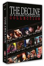 THE DECLINE OF WESTERN CIVILIZATION Box 4 DVD in Inglese NEW .cp
