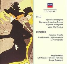 Ernest Ansermet Conducts Lalo & Chabrier (CD, Mar-2010, 2 Discs, Decca)