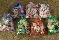 Littlest Pet Shop LPS Lot ♡ 8 Pets Random SURPRISE Grab Bag w Rare EUC Dog Cat