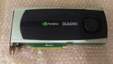 NVIDIA Quadro 6000 6GB GDDR5 PCI-E x16 Graphics Card GPU Workstation CAD Dell HP