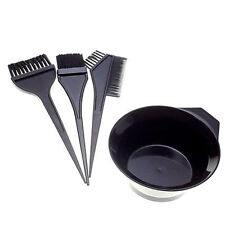 Hair Colouring Brush And Bowl Set Bleaching Dye Kit Salon Beauty Comb Tint NEW