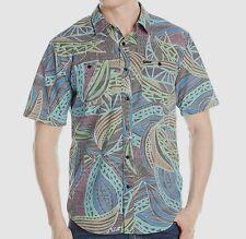 VOLCOM Men's ENFIELD S/S Button Shirt - BLK - XL - NWT