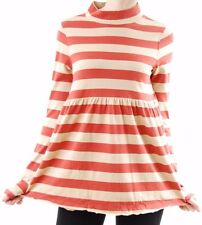 Free people Women's Mod About It Tunic Scater Dress Stripes Red Size XS BCF510
