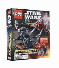 LEGO Star Wars Brickmaster DK Mixed 240 Bricks & Two Mini Figures New  Book