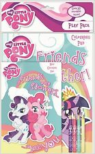 MY LITTLE PONY GIOCO CONFEZIONE LIBRO DA COLORARE MATITE COLORATE & PAD