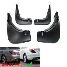 Splash Guard Mud Flaps Dirtboard Fender Mudguard For C Class W205 Sedan 2015 16