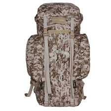 MARPAT USMC DESERT DIGITAL CAMO TACTICAL PACK MILITARY W USA VELCRO FLAG PATCH