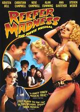 REEFER MADNESS: THE MOVIE MUSICAL Movie POSTER 27x40 C Kristen Bell Christian
