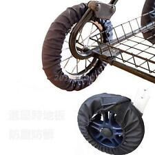 Kinderwagen Radabdeckung Wasserschutz Wheels Cover Radkappe für Klein Rad