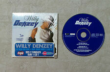 "CD AUDIO MUSIQUE / WILLY DENZEY ""LE MUR DU SON"" CD SINGLE 3TK 2003 CARD SLEEVE"