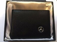 Mecedes Benz Genuine Leather Car Drivers License Business Credits Card  Holder
