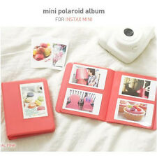 2NUL Photo Album for Fuji Fujifilm INSTAX MINI 50s 7 8s instant film -Coral Pink
