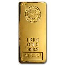 1 kilo (32.15 oz) Royal Canadian Mint Gold Bar .9999 Fine - SKU #43292
