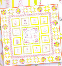 Sundress - stitchery & pieced quilt PATTERN - Crabapple Hill Studio