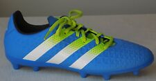 Youth  Boy's ACE 16.3 FG/AG J Soccer Shoes  Blue-Multi-color   Size: 5.5