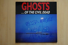 "Ghosts... of The Civil Dead ""Nick Cave"" autógrafos signed LP-cover ""banda sonora"""