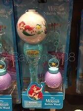 The Little Mermaid Ariel Glow Bubble Wand Under The Sea Disney Park New