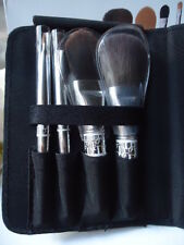 DIOR RARE HOLIDAY COLLECTION 4 PIECE BRUSH SET FAUX LEATHER POUCH NEW MARKED BOX