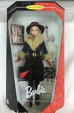 NIB Stunning Collector Edition City Seasons Winter In New York Barbie Doll 19429