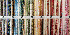"Little House On The Prairie Cotton Quilt Fabric 52 Piece Jelly Roll 2.5"" Strips"