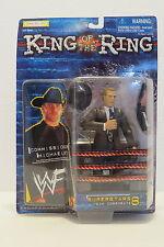 WWF WWE WRESTLING KING OF THE RING SUPERSTARS 8 COMMISSIONER MICHAELS