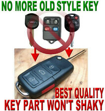2011-14 FORD MUSTANG ALLin1 FLIP TRANSPONDER CHIP KEY KEYLESS ENTRY REMOTE CLICK