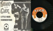 SONNY AND CHER 45 TOURS BELGIQUE LITLE MAN