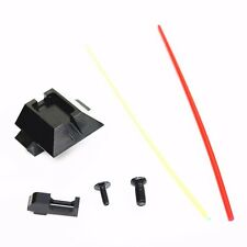 AS796 Airsoft Toy PPS Glow Fiber Optic Front & Rear Sight For Marui 17 G17