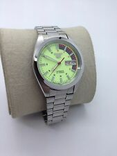 SEIKO 5 RACER LUMI DIAL AUTOMATIC 21 JEWELS MEN'S WATCH (MINT CONDITION)SERVICED