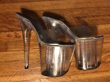 Pleaser 8 Inch Platform Stilettos - Women's size 8
